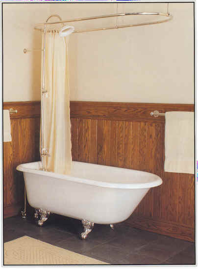 Curtains Ideas clawfoot tub curtain : Clawfoot Tub Shower Curtain. See Other Shower Curtains For ...
